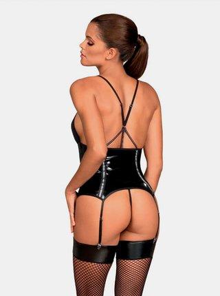 Pikantní korzet Stormea corset - Obsessive černá