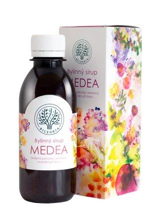 Bilegria Bylinný sirup Medea na duševní pohodu 200 ml