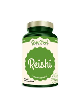GreenFood Nutrition GreenFood Reishi 90 kapslí