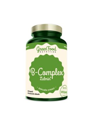GreenFood Nutrition GreenFood B-Komplex Lalmin® 60 kapslí