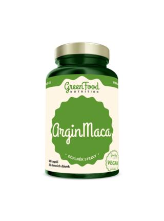 GreenFood Nutrition GreenFood ArginMaca 60 kapslí