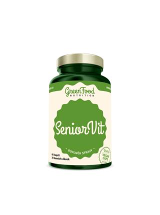 GreenFood Nutrition GreenFood SeniorVit 60 kapslí
