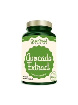 GreenFood Nutrition GreenFood Avocado extrakt 90 kapslí