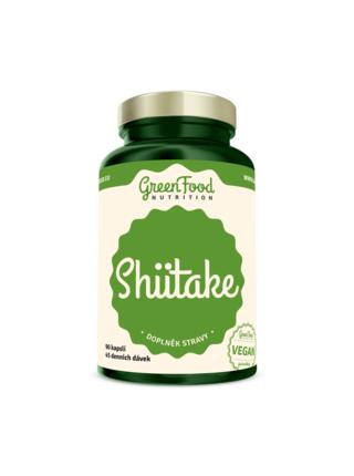 GreenFood Nutrition GreenFood Shiitake 90 kapslí