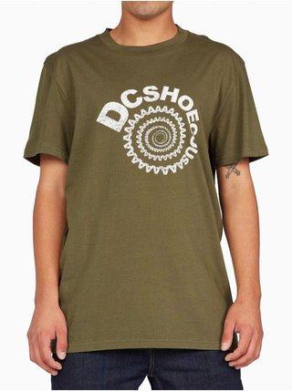 Dc SPIRAL IVY GREEN pánské triko s krátkým rukávem