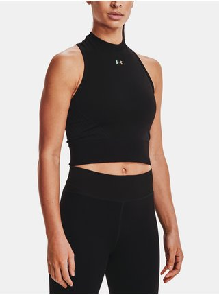 Tílko Under Armour UA Rush Seamless Crop Top - Černá