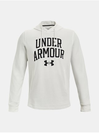 Mikina Under Armour UA RIVAL TERRY COLLEGIATE HD - Bílá