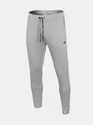 Pánské běžecké kalhoty 4F SPMTR271  Šedá