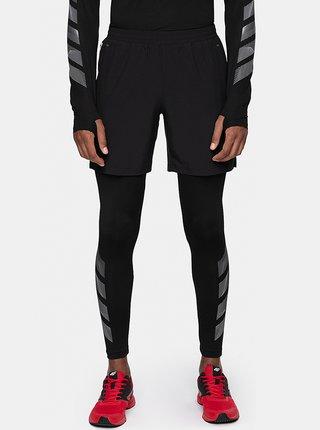 Pánské běžecké šortky 4F SKMF273  Černá