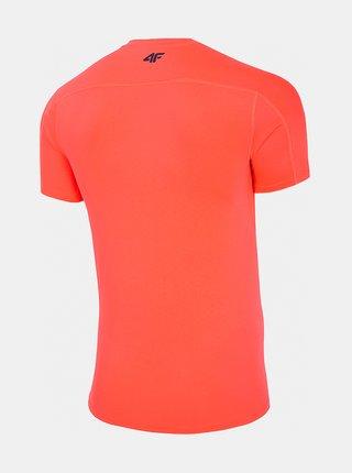 Pánské sportovní tričko 4F TSMF283  Červená