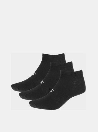 Dámské ponožky 4F SOD302 (3 páry) Černá