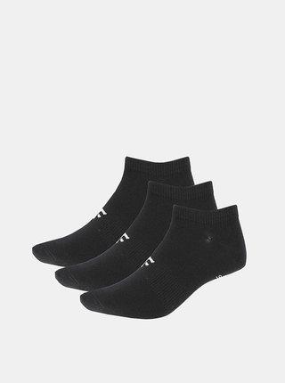 Pánské kotníkové ponožky 4F SOM301 (3 páry) Černá