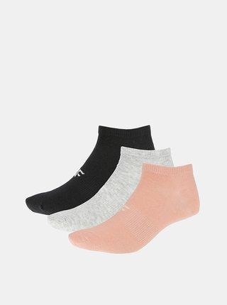 Dámské ponožky 4F SOD302  Růžová
