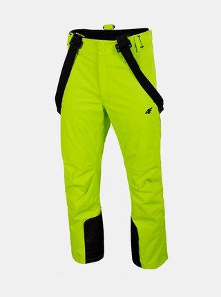 Pánské lyžařské kalhoty 4F SPMN012  Zelená