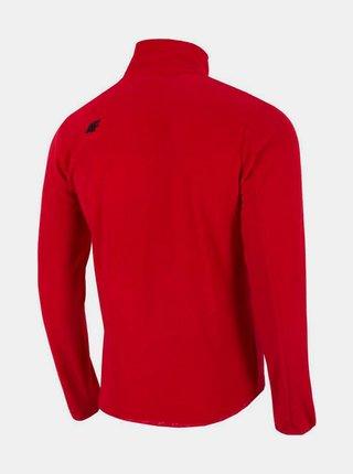 Pánská fleecová mikina 4f PLM071  Červená