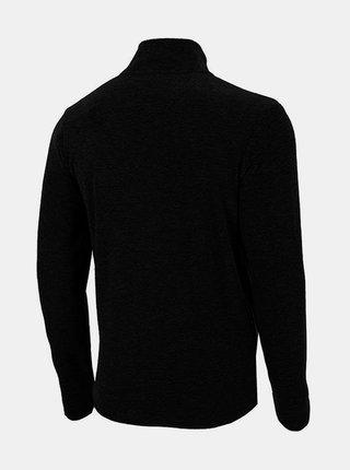 Pánská fleecová mikina 4F PLM071  Černá