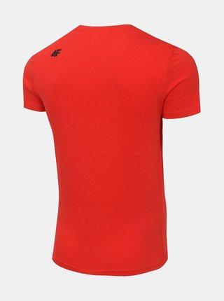 Pánské tričko 4F TSM072  Červená