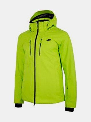 Pánská lyžařská bunda 4F KUMN153  Zelená