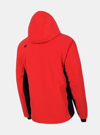 Pánská lyžařská bunda 4F KUMN012  Červená