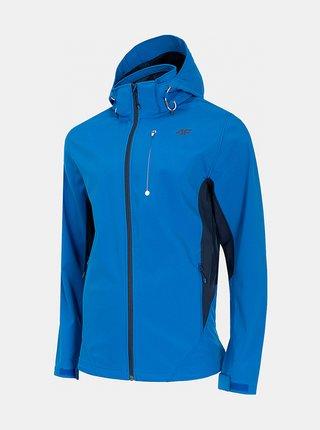 Pánská sofshellová bunda 4F SFM203  Modrá