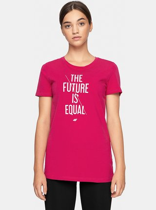 Dámské tričko 4F TSD007  Růžová