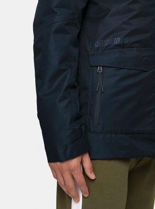 Pánská městská bunda 4F KUM006 Modrá