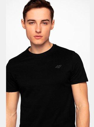 Pánské bavlněné tričko 4F TSM300  Černá