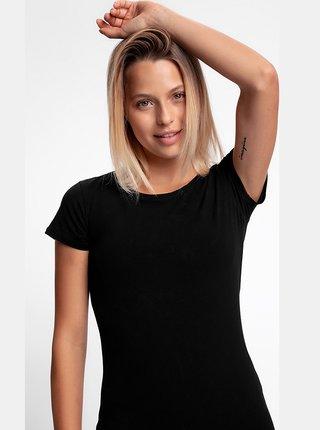 Dámské bavlněné tričko 4F TSD300  Černá
