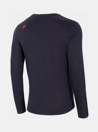 Pánské tričko s dlouhými rukávem 4F TSML206 Modrá