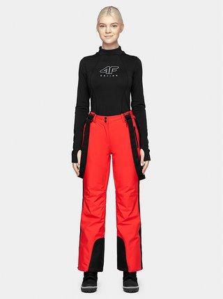 Dámské lyžařské kalhoty 4F SPDN201  Červená