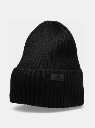 Dámská zimní čepice 4F CAD204  Černá