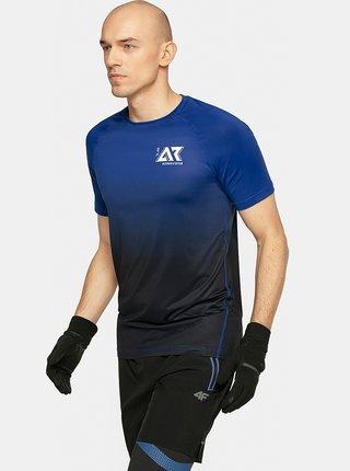 Pánské běžecké tričko 4F TSMF104  Modrá