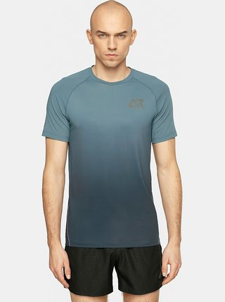 Pánské běžecké tričko 4F TSMF104  Šedá