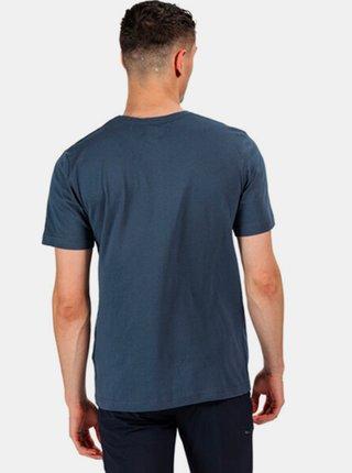 Pánské tričko Regatta RMT214 Breezed  Modrá