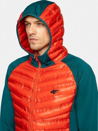 Pánská outdoorová bunda 4F KUMH207  Oranžová