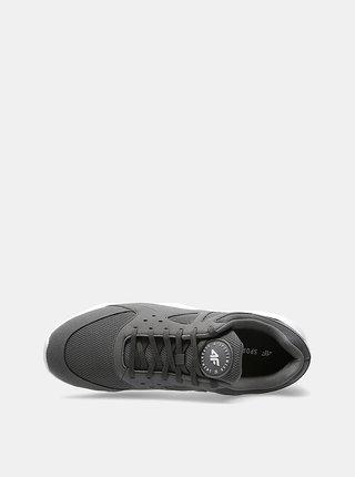 Pánská vycházková obuv 4F OBML202  Šedá