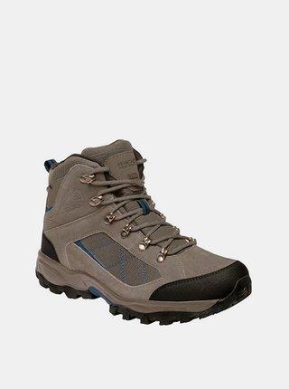 Pánské vysoké trekové boty REGATTA RMF485 Clydebank  Béžová