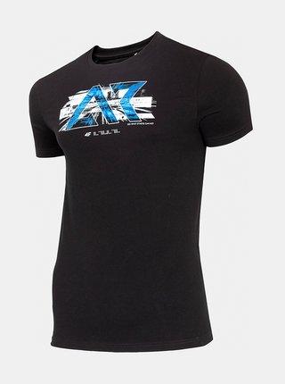 Černé pánské tričko 4F TSM211