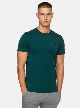Pánské bavlněné tričko 4F TSM300  Zelená