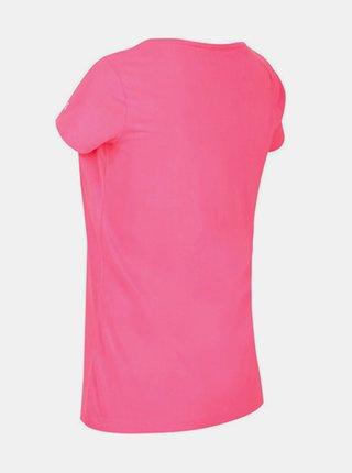 Dámské tričko RWT208 REGATTA Breezed  Růžová