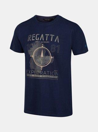 Pánské tričkoREGATTA RMT206 Cline IV Modrá