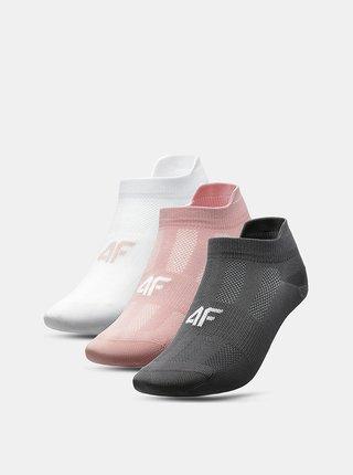 Dámské ponožky 4F SOD213 (3 páry)