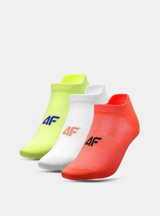 Doplnky pre ženy 4F - červená, biela, žltá
