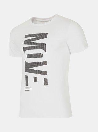 Pánské tričko 4F TSM072  Bílá