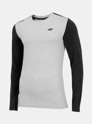 Pánské tričko 4F TSML071  Šedá