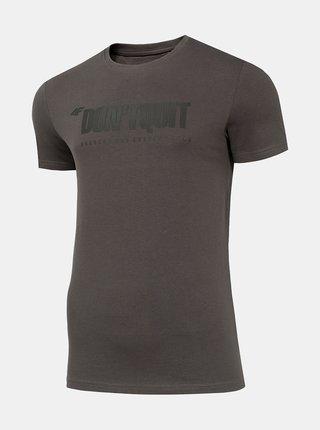 Pánské tričko 4F TSM074  Šedá