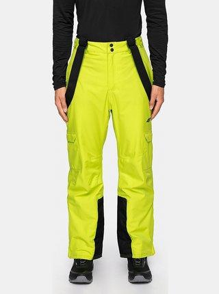 Pánské lyžařské kalhoty 4F SPMN009  Zelená