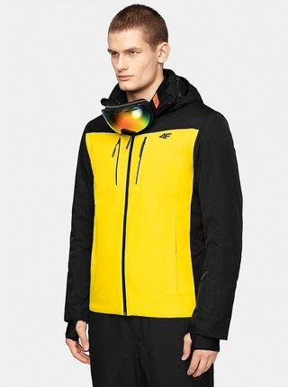 Pánská lyžařská bunda 4F KUMN009  Žlutá