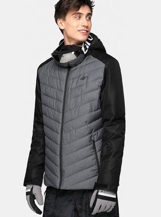Pánská lyžařská bunda 4F KUMN004  Šedá
