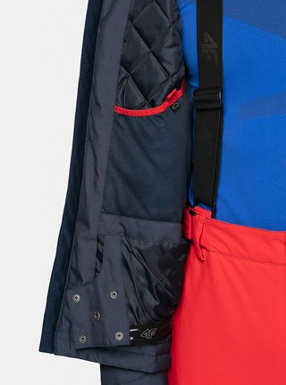 Pánská lyžařská bunda 4F KUMN071 Modrá